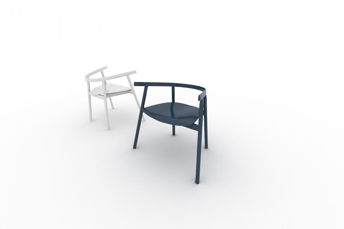 Miroslav Hušek / židle Sano
