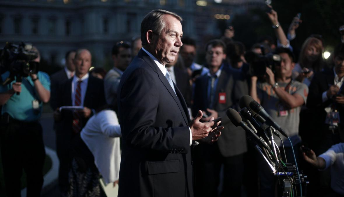 Republikán John Boehner