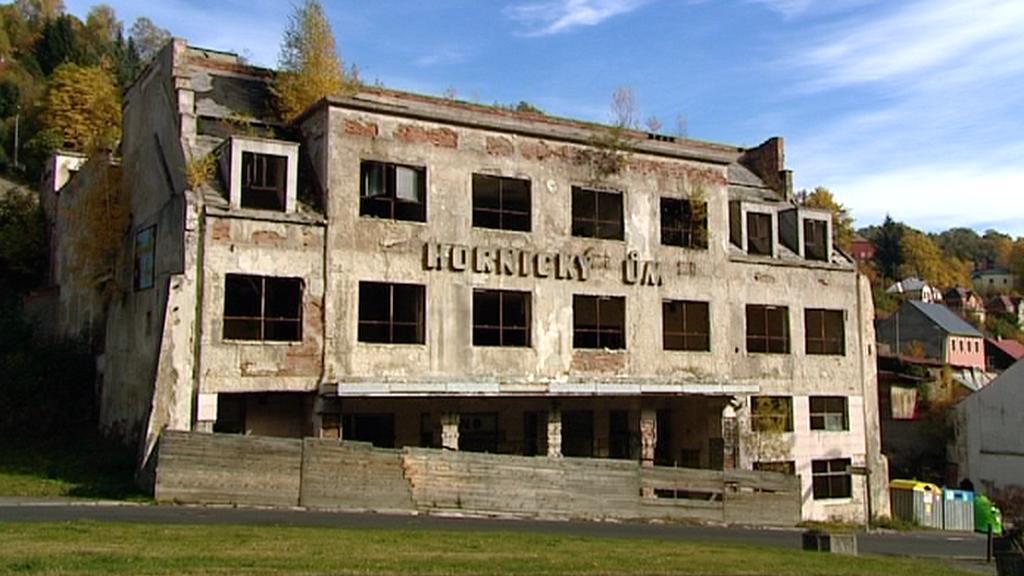 Ruina Hornického domu v Jáchymově