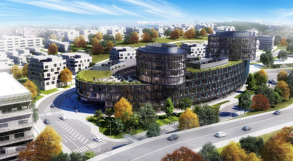 Projekt v areálu bývalé Waltrovky v Jinonicích