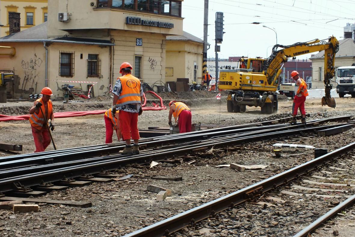 Rekonstrukce viaduktu u hlavního nádraží