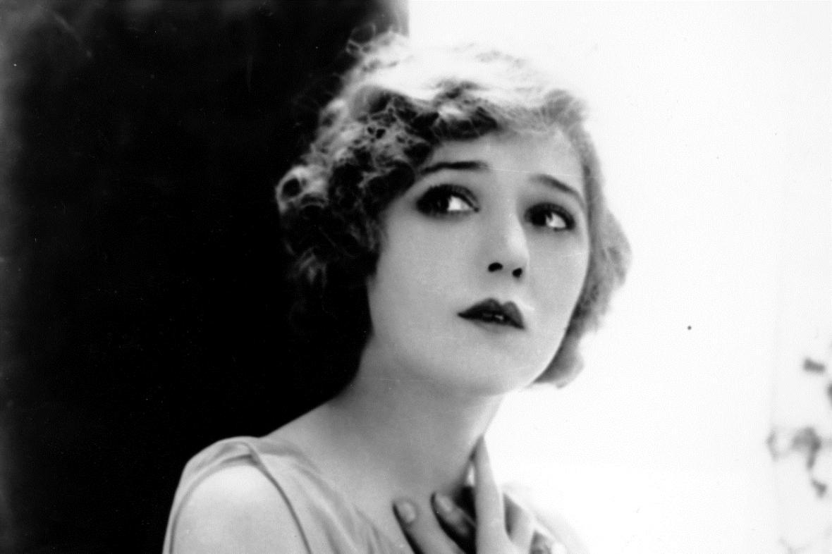 Herečka Mary Pickfordová