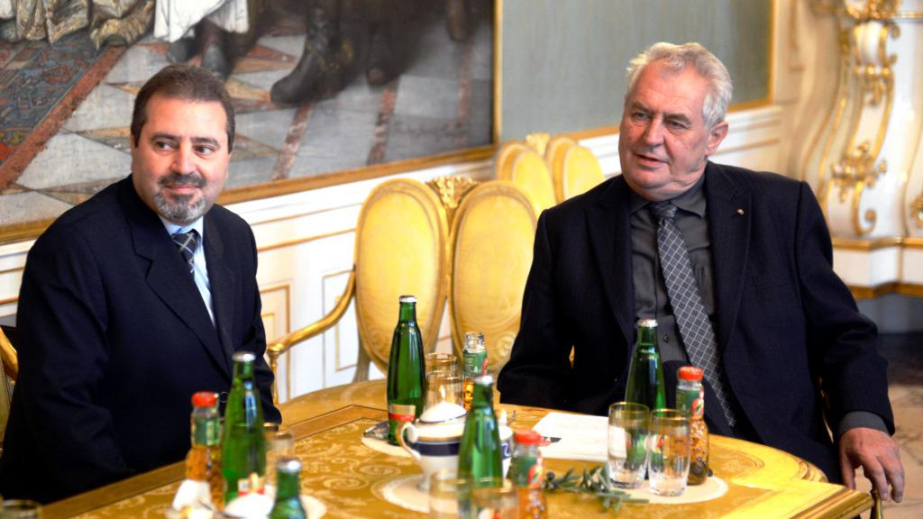 Džamál Muhammad Džamál a Miloš Zeman