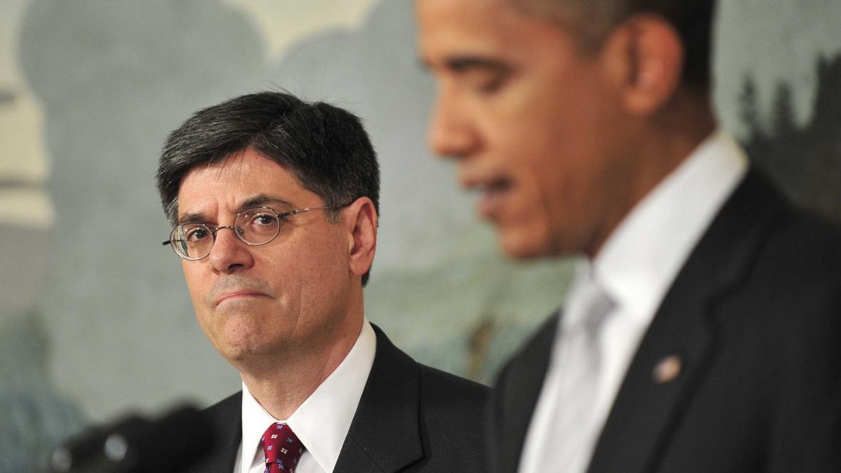 Jacob J. Lew a Barack Obama