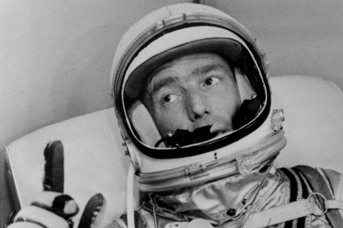 Scott Carpenter na fotografii z roku 1962