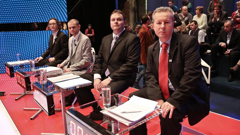 Předvolební debata s lídry Ústeckého kraje