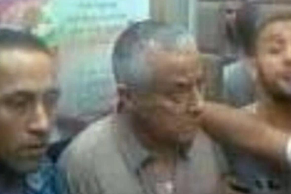 Zadržení Alího Zajdána