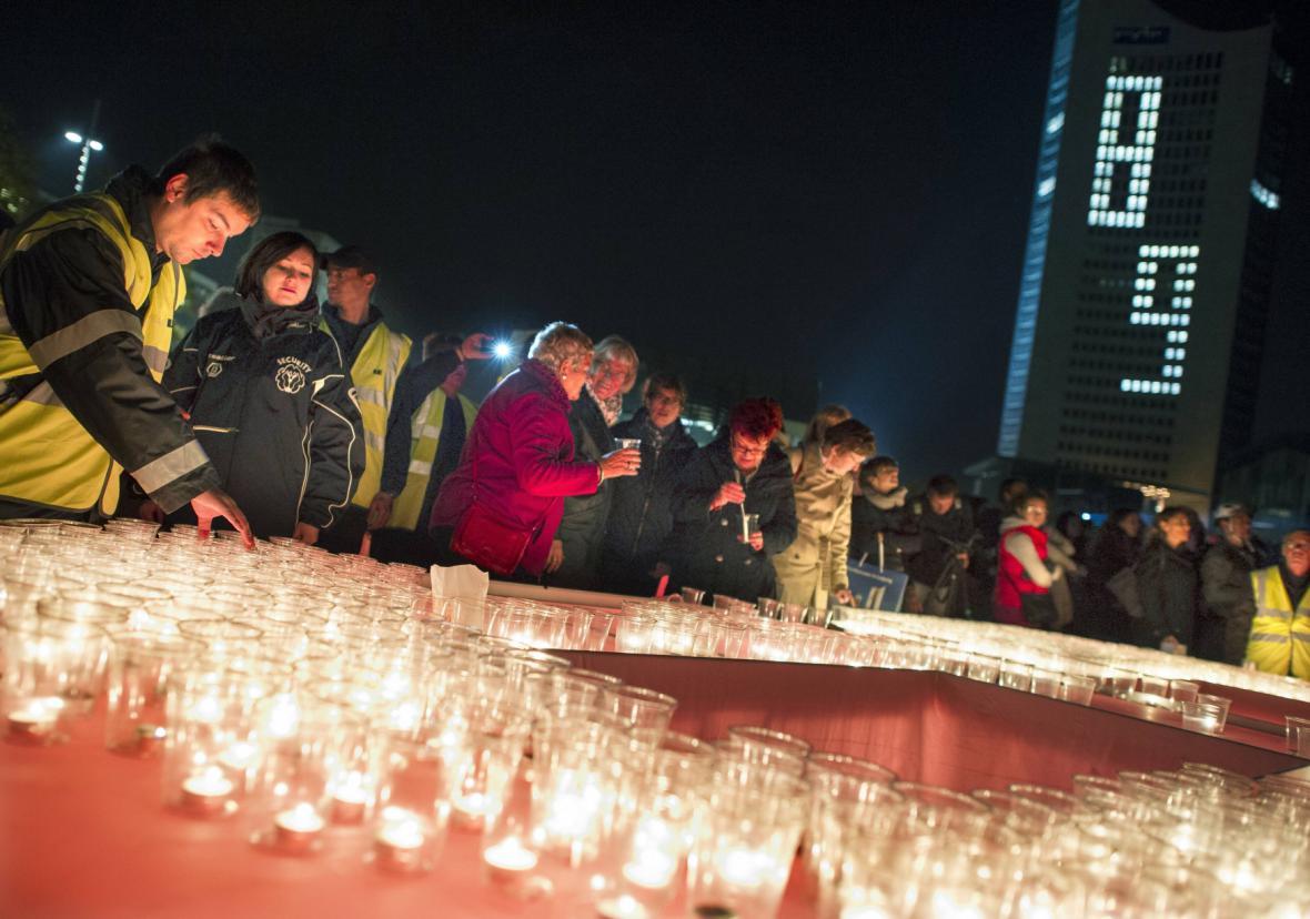 Slavnost světla v Lipsku