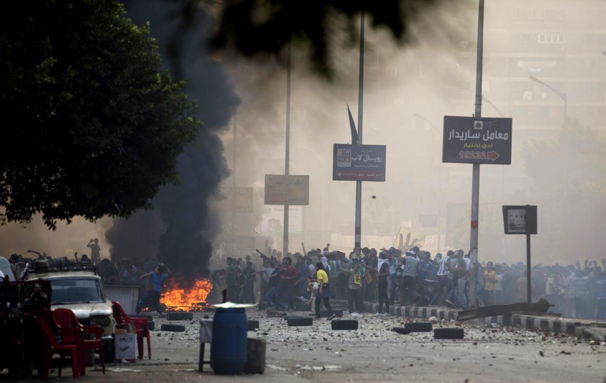 Násilné střety v Egyptě
