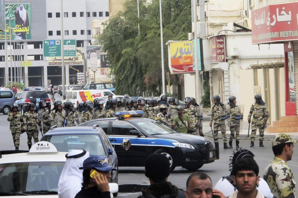 Policie v Saúdské Arábii