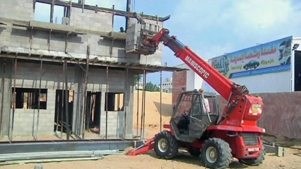 Stavebnictví v Gaze