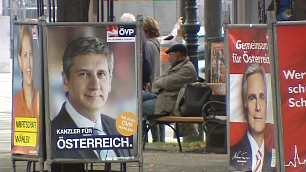 O vítězství ÖVP a SPÖ nepochybuje téměř nikdo