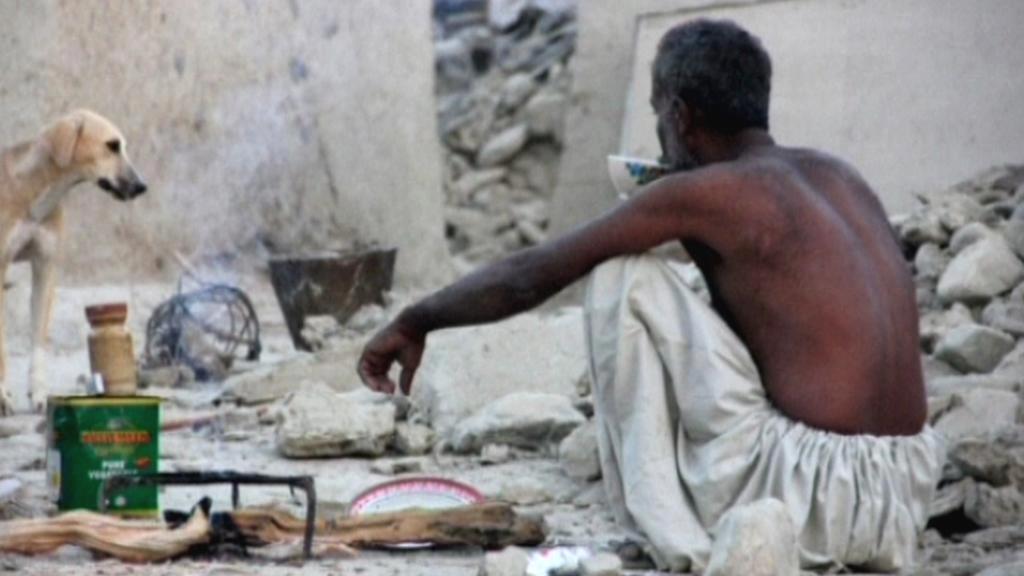 Následky zemětřesení v Pákistánu