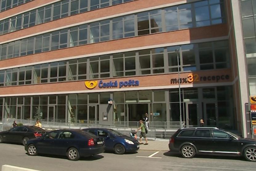 Nová pobočka zlínské pošty ve 32. budově