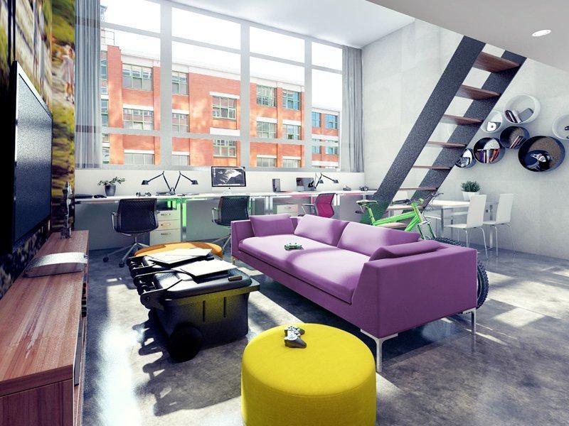 Vizualizace bytů ve 32. budově v baťovském areálu