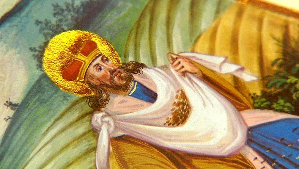 Iluminace ze Života svatého Václava od Matyáše Hutského