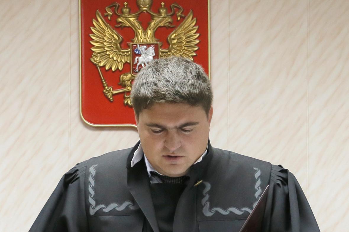 Soudce Dmitrij Krivonosov