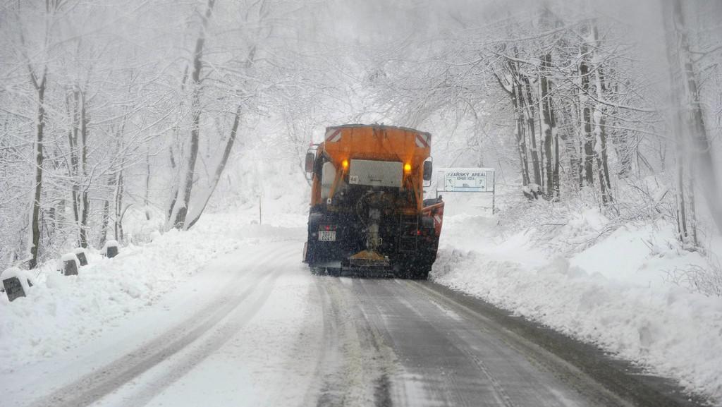 Údržba silnice