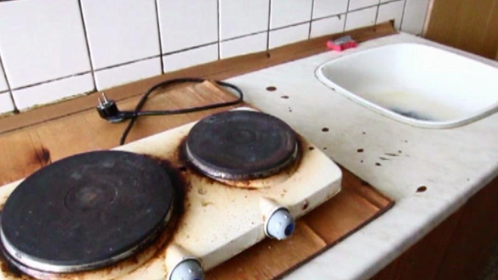 Kuchyň v ubytovně Předvoj