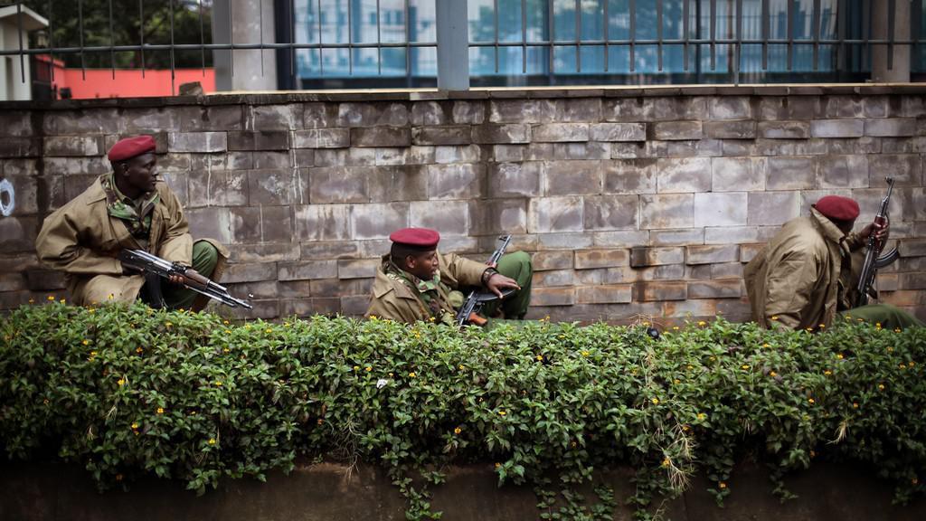 Keňské bezpečnostní síly