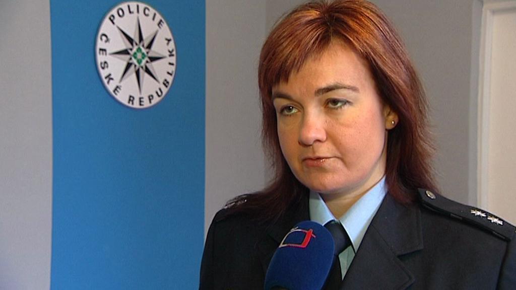 Gabriela Holčáková, mluvčí PČR Ostrava