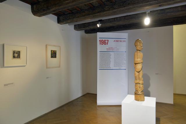 Pohled do expozice GHMP Život galerie