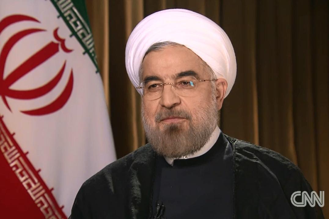 Hasan Rouhání v rozhovoru pro CNN