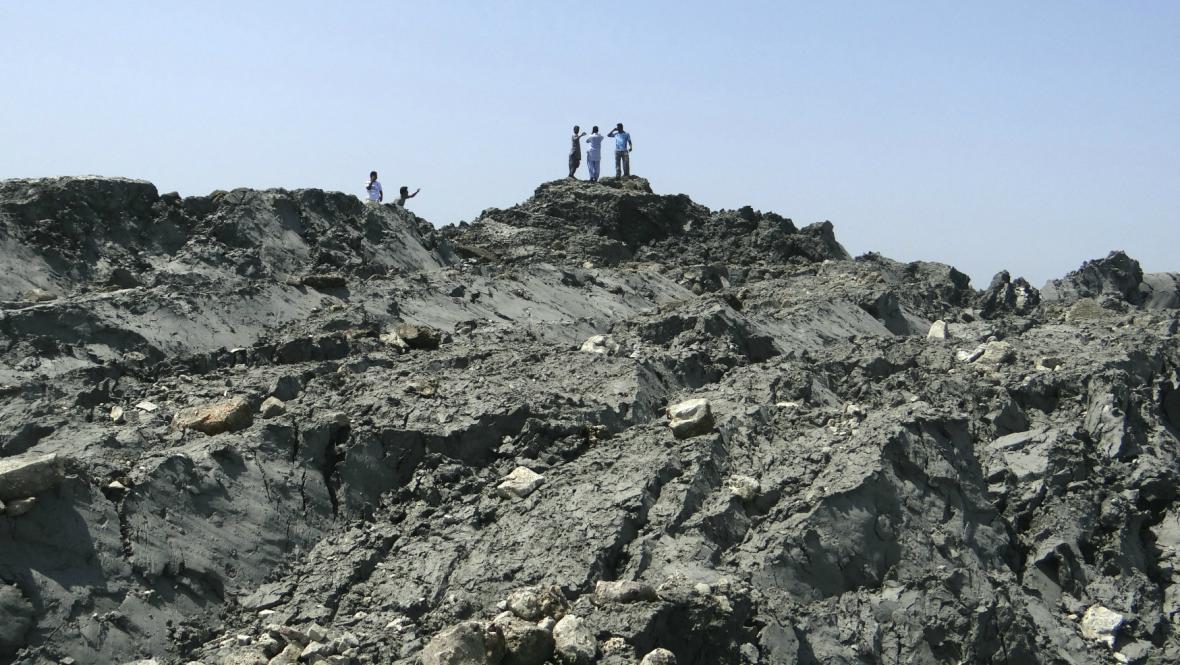 Po zemětřesení vznikl u Pákistánu ostrůvek