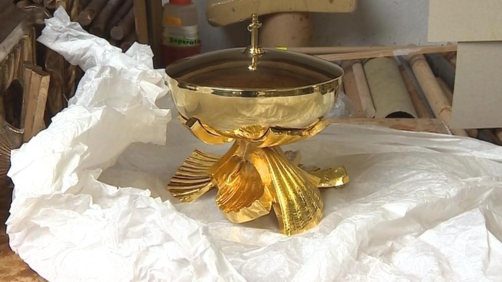 Olivovy liturgické předměty pro trnavskou katedrálu