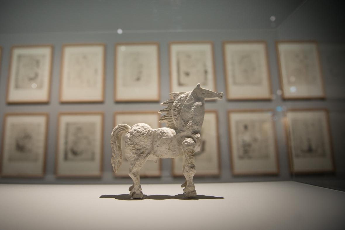 Z výstavy Georgese Braqua