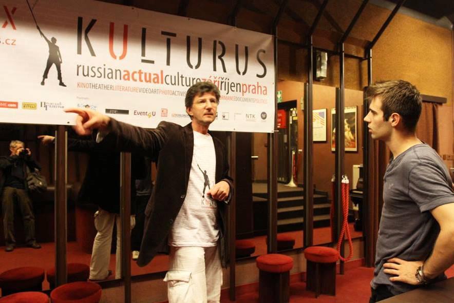 Festival Kulturus (vlevo Anton Litvin)