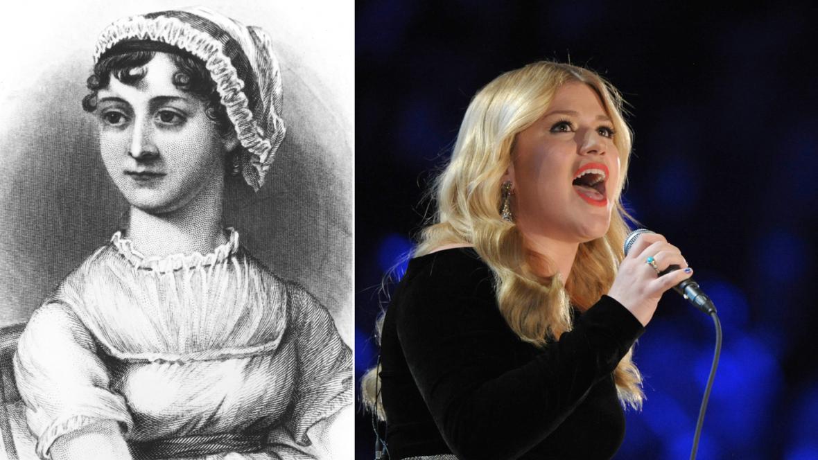 Jane Austenová a Kelly Clarksonová