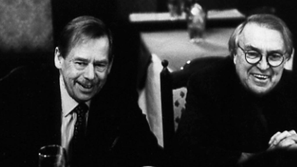 Václav Havel a Pavel Kohout
