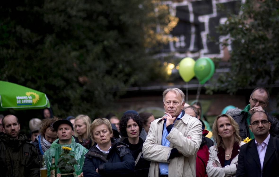 Volební lídr Zelených Jürgen Trittin