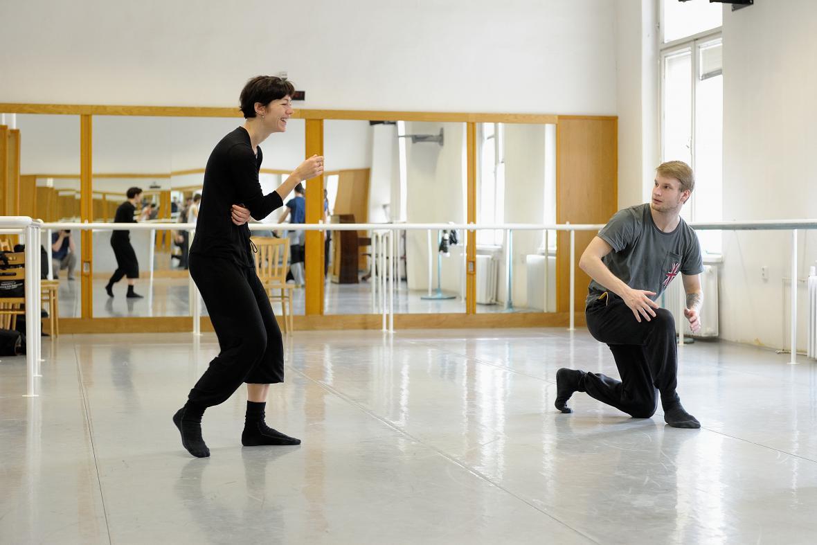 Zkouška baletu NDM