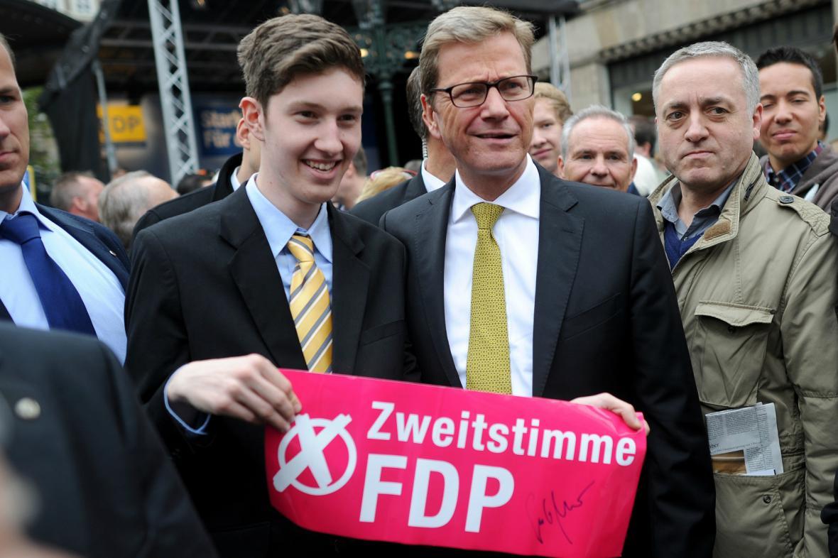FDP v kampani žádala voliče o druhý hlas