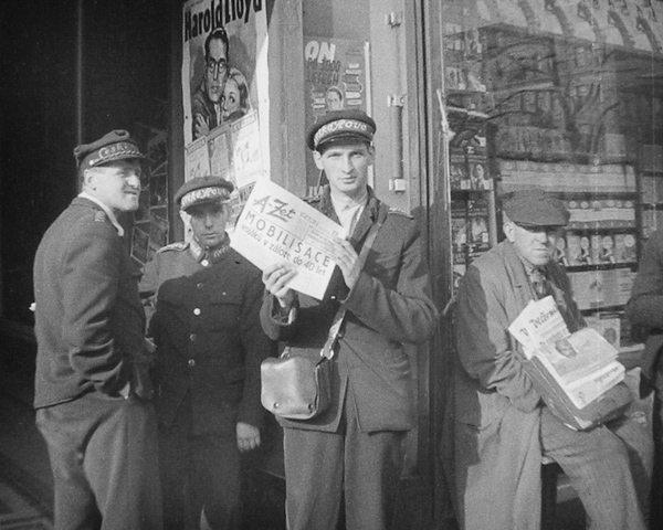 Vyhlášení mobilizace (květen 1938)