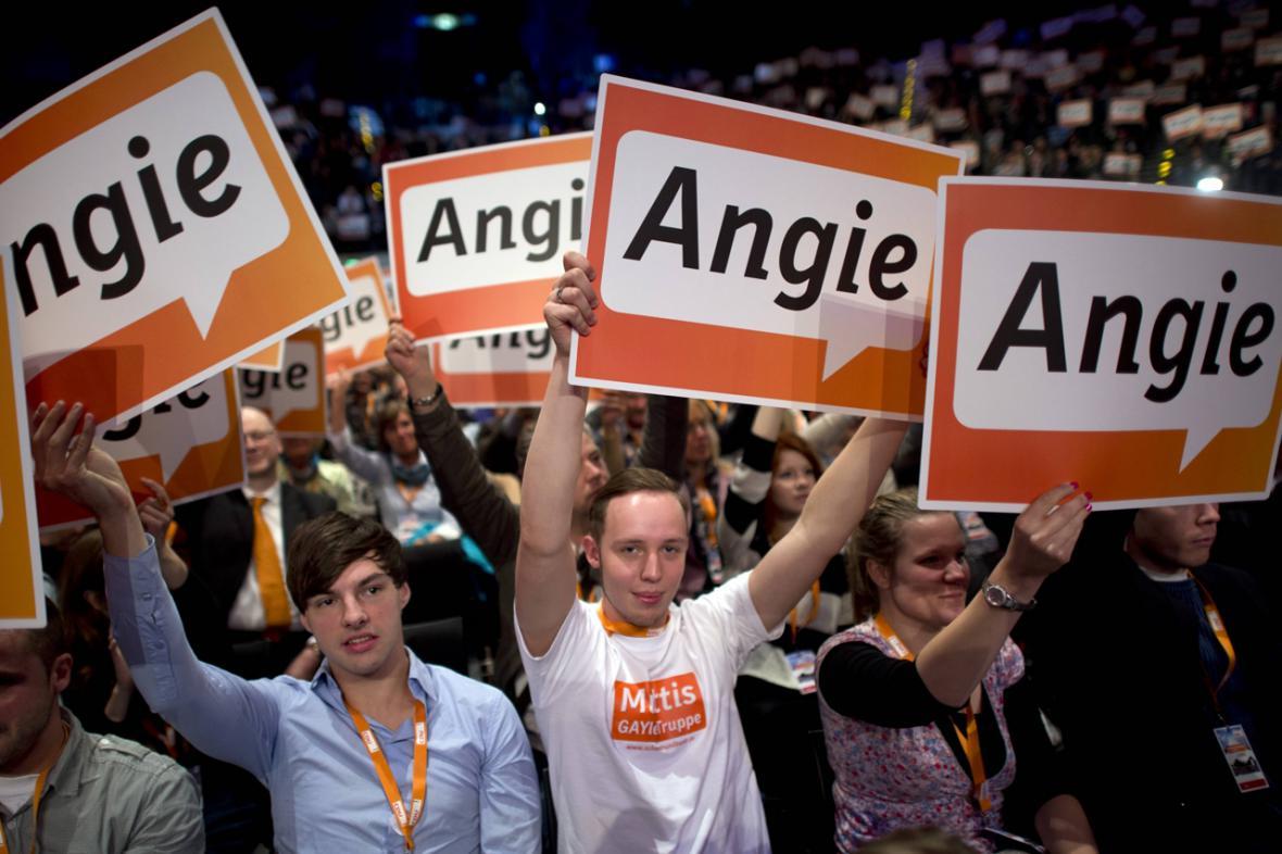 Vítězství Angely Merkelové