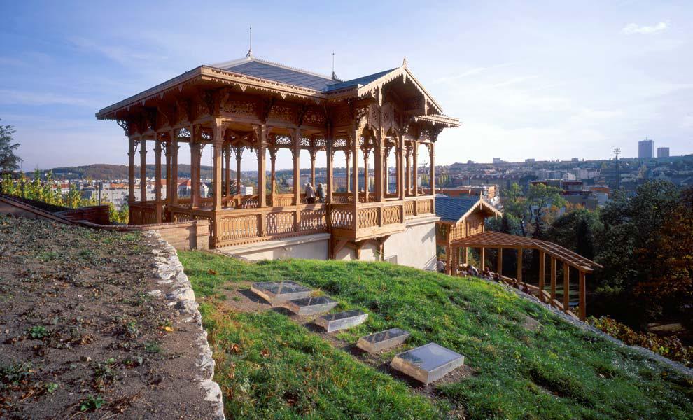 Viniční altán v Grébovce