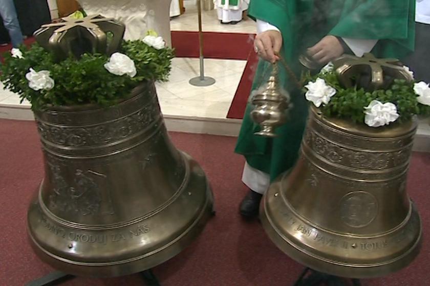 Nové bronzové zvony pro kostel sv. Václava