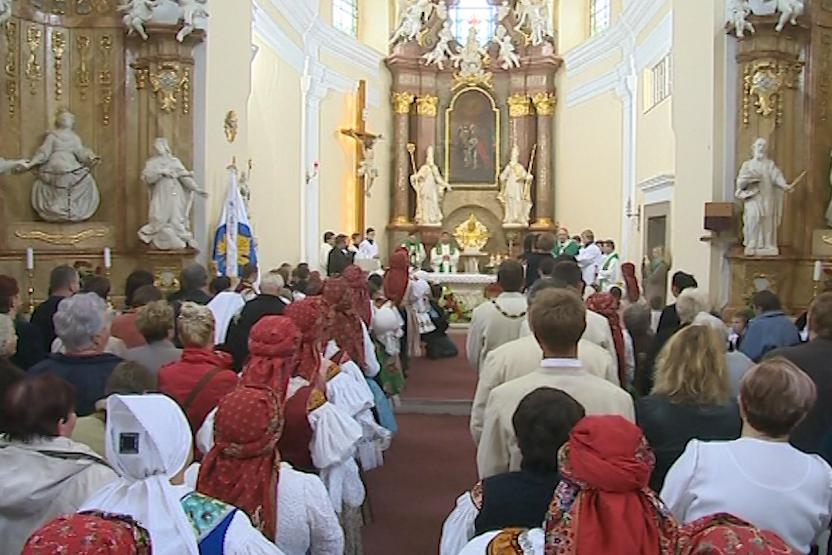 Kostel sv. Václava v Boršicích