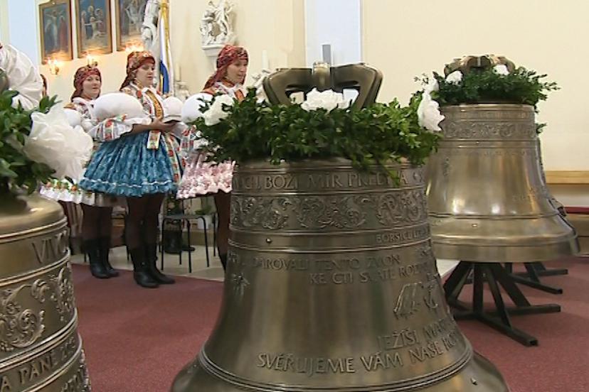 Svěcení zvonů v Boršicích