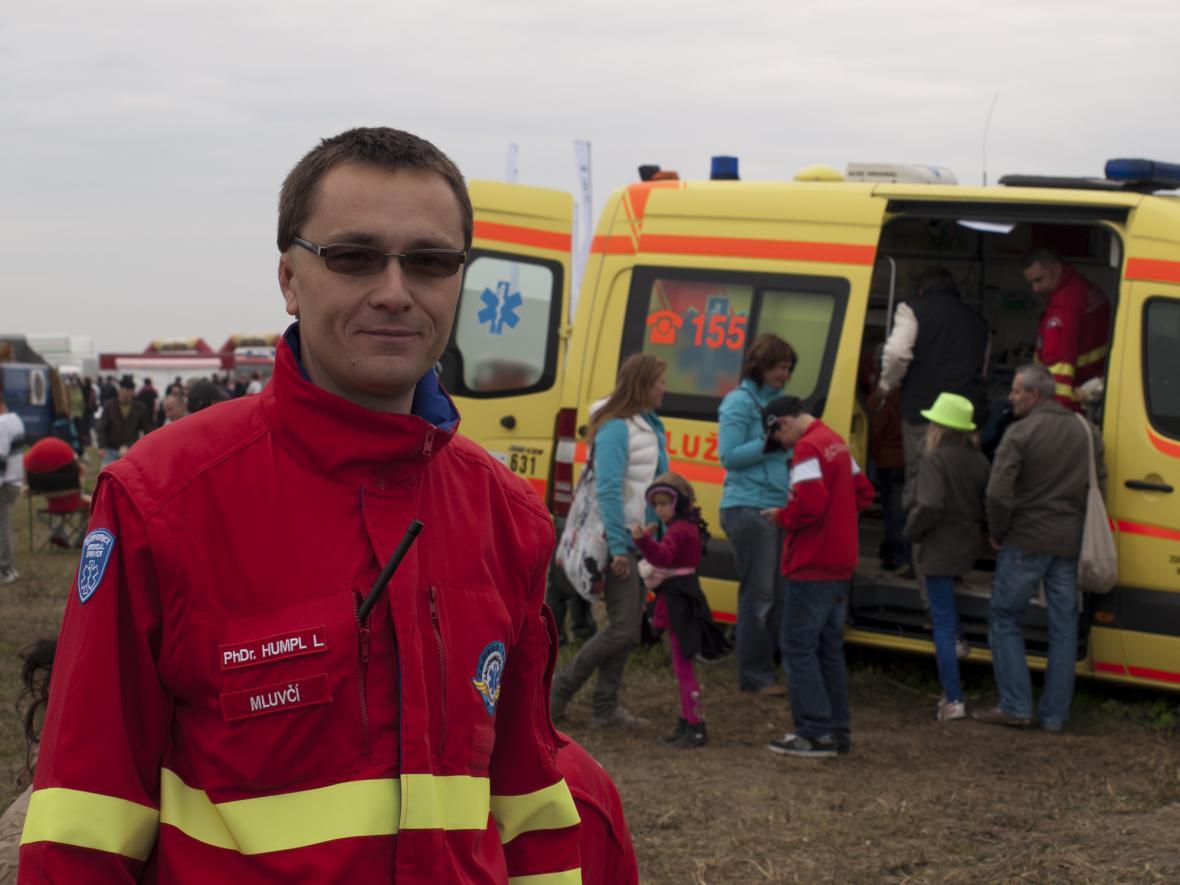 Lukáš Humpl, mluvčí krajské záchranné služby MS kraje