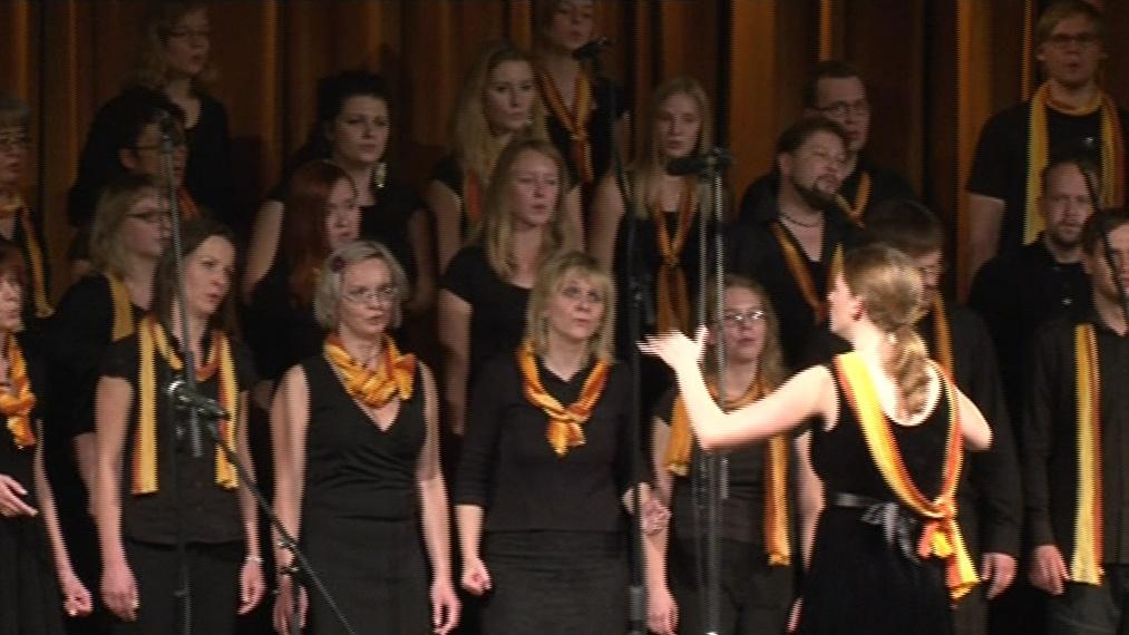Brno Gospel Choir při závěrečném koncertu
