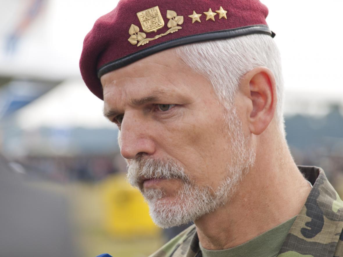 Náčelník generálního štábu Armády ČR, generálporučík Petr Pavel