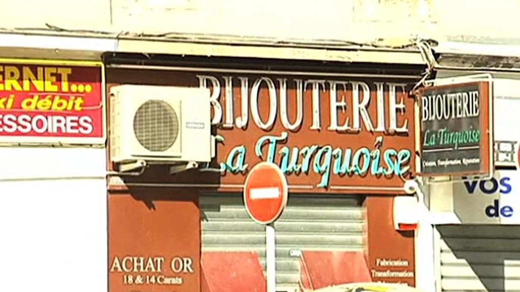 Zlatnictví La Turquoise v Nice