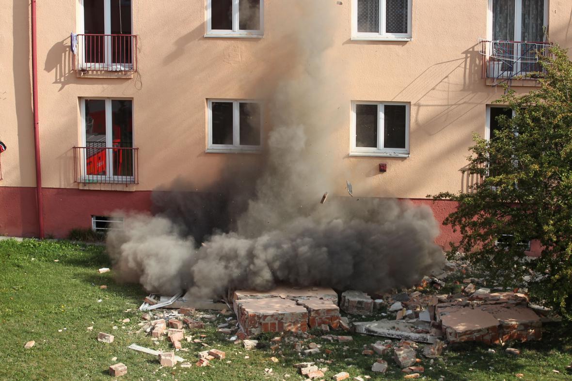 Výbuch plynu v Havířově