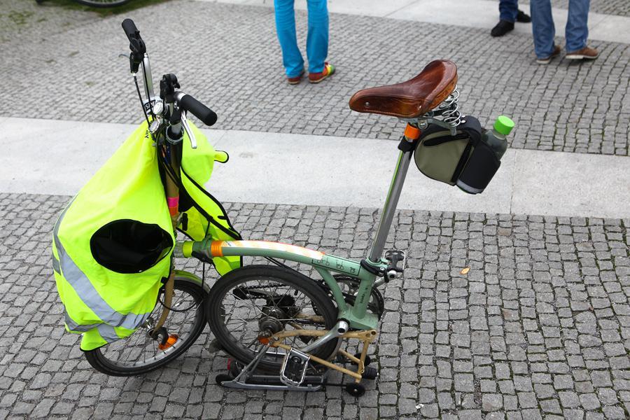 Studenti na cyklojízdě