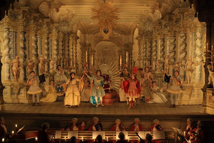 Barokní divadlo v Českém Krumlově