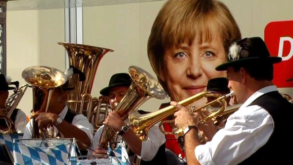 Německá volební kampaň